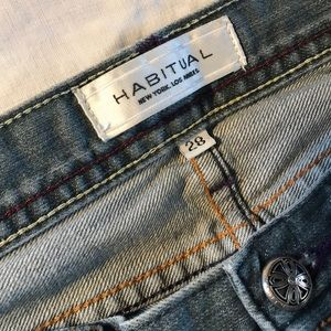 100% Cotton Boot Cut Jeans by Habitual.